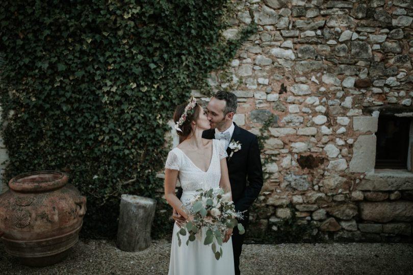 Un mariage en Provence au Mas Piboule - Photos : Soulpics - Blog mariage : La mariée aux pieds nus