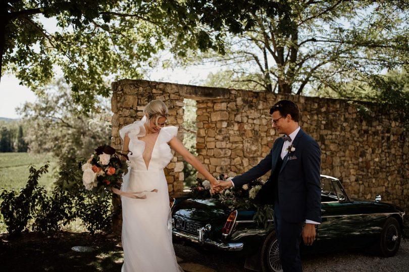 Un mariage au Mas de So dans le Gard - Photos : Coralie Lescieux - Blog mariage : La mariée aux pieds nus
