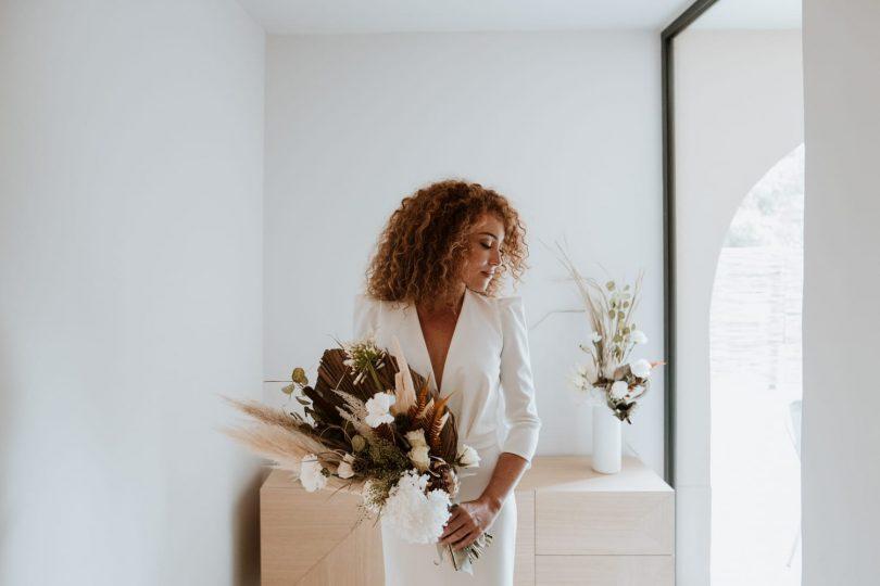 Un mariage minimaliste dans les Alpilles en Provence - Photos : SoulPics - Blog mariage : La mariée aux pieds nus