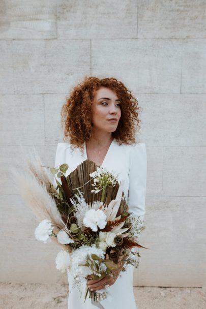 Un mariage minimaliste au Domaine du Vallon des Glauges en Provence - Photos : SoulPics - Blog mariage : La mariée aux pieds nus