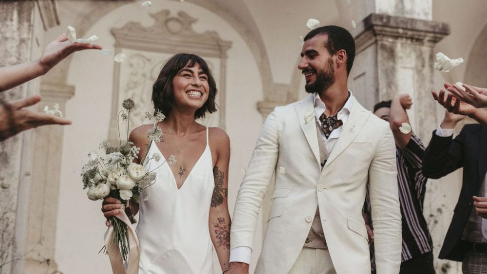 Un mariage minimaliste en blanc - Photos : Sandie Boloto - Blog mariage : La mariée aux pieds nus