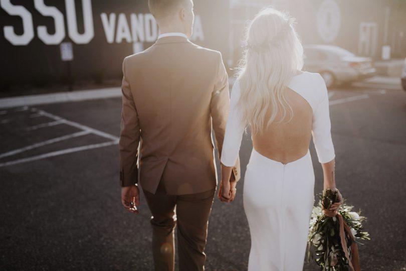 Un mariage minimaliste - Matt Lien - La mariée aux pieds nus
