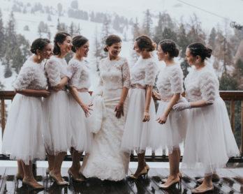 Un mariage en hiver sous la neige à La Plagne - A découvrir sur le blog mariage www.lamarieeauxpiedsnus .com - Photos : NeuPap Photography