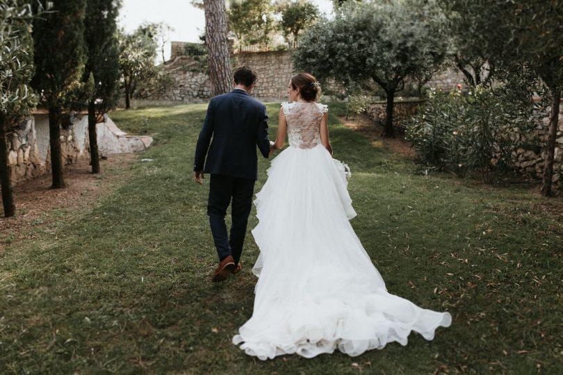Un mariage dans la maison familiale près de Nimes - Photos : Laurent Brouzet - Blog mariage : La mariée aux pieds nus