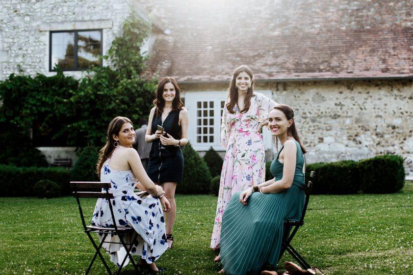 Un mariage en blanc en Normandie à la Dîme de Giverny - Photos : Zoe Fidji - Blog mariage : La mariée aux pieds nus