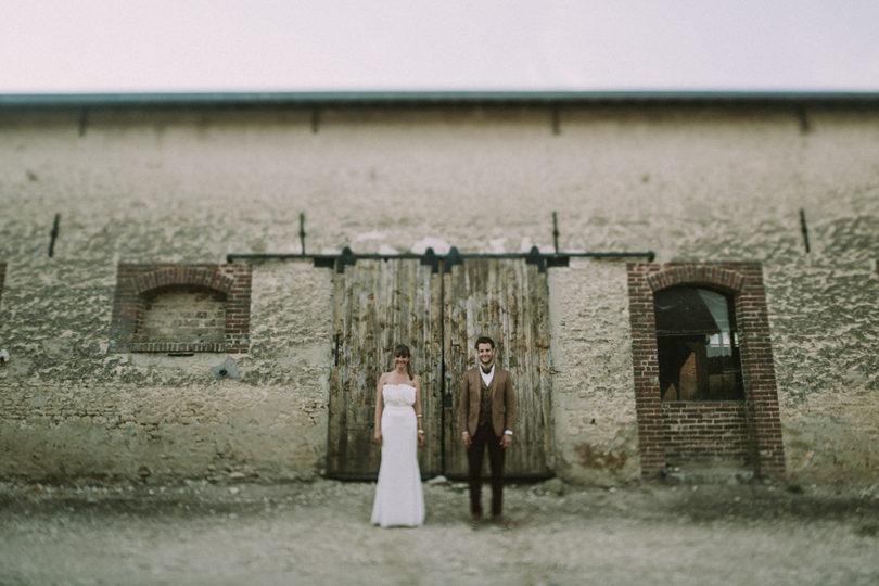 Un mariage dans un hangar agricole en Normandie