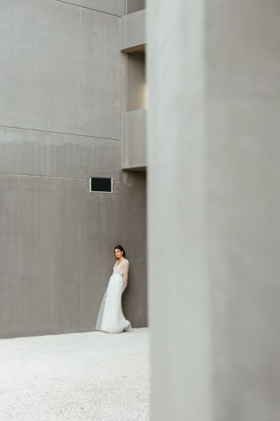 Un mariage en nude et noir à Strasbourg - Photos : Elodie Winter - Blog mariage : La mariée aux pieds nus