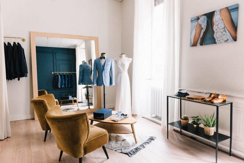 Comment réussir ses essayages de costume de marié avec Olympe et Faubourg Saint Sulpice - Photos : Chloé Lapeyssonnie - Blog mariage : La mariée aux pieds nus
