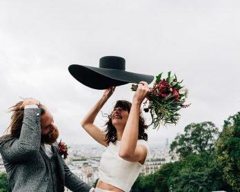 Un mariage à Paris - Tout Doux Liste - Photos : Pierre Atelier - Blog mariage : La mariée aux pieds nus