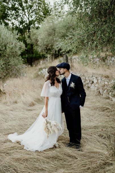 Un mariage sur le thème de Peaky Blinders au Château Haute Germaine dans les Alpes Maritimes - Photos : David Latour - Blog mariage : La mariée aux pieds nus