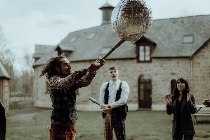 Un mariage en petit comité au Domaine des Hayes près de Rennes - Photos : Lilipop Photographie - Blog mariage : La mariée aux pieds nus