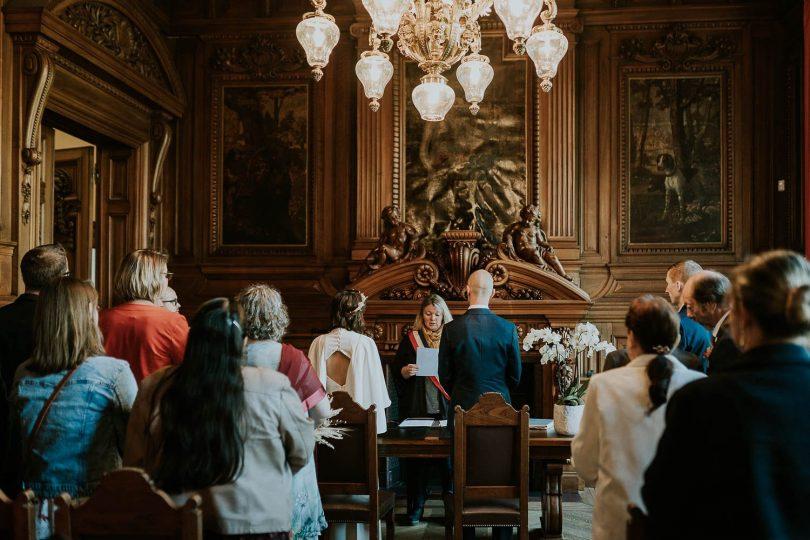 Un mariage en petit comité près de Lille - Photos : Madame B Photographie - Blog mariage : La mariée aux pieds nus
