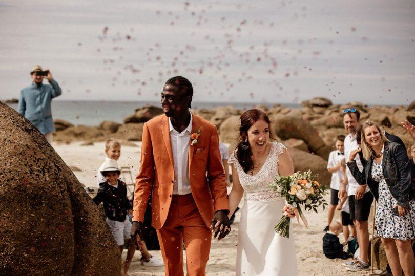 Un mariage en petit comité en Bretagne - Photos : Dall'k - Blog mariage : La mariée aux pieds nus