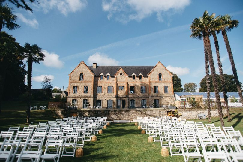 Un mariage au Château du Plessis Kaër en Bretagne - Photos : Fabien courmont - Blog mariage : La mariée aux pieds nus