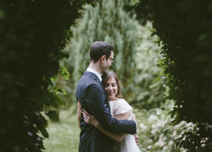 Un mariage en vert et blanc en Normandie