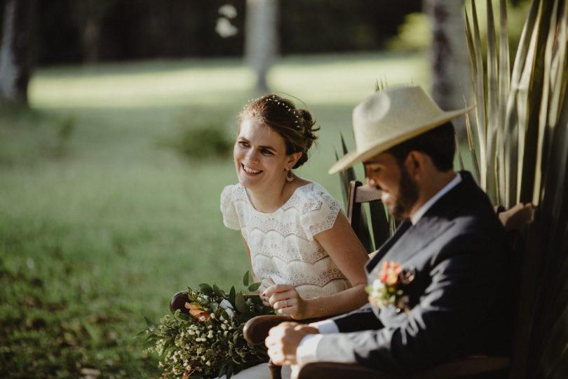Un mariage végétal à La Réunion - A découvrir sur le blog mariage www.lamarieeauxpiedsnus.com - Photos : Capyture