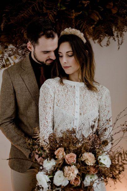 Un mariage couleur rouille - Photos : Sophie Masiewicz - Blog mariage : La mariée aux pieds nus