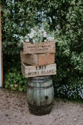 Un mariage rustique en Bourgogne - A découvrir sur le blog mariage www.lamarieeauxpiedsnus.com - Photos : The Quirky