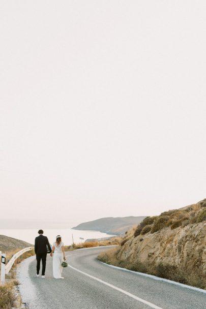 Un mariage à Serifos en Grèce - Photos : Bubblerock - Blog mariage : La mariée aux pieds nus