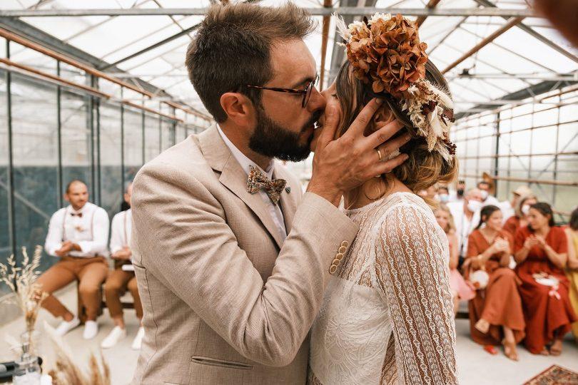 Un mariage aux serres de Saint Clément des Baleines sur l'Île de Ré - Photos : Thomas Bonnin - Blog mariage : La mariée aux pieds nus