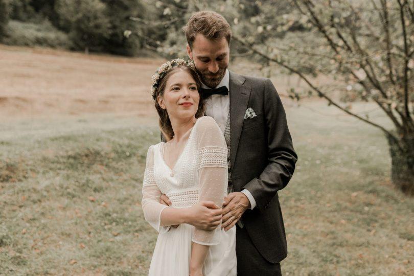 Un mariage simple et champêtre en Normandie