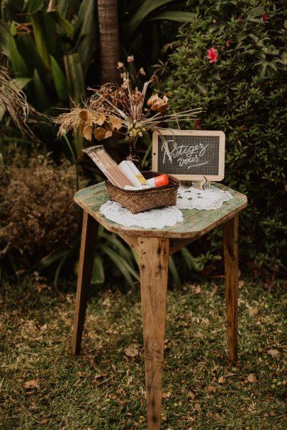 Un mariage simple et éco-responsable à La Réunion - Photos : Abigaïl Morellon - Blog mariage : La mariée aux pieds nus