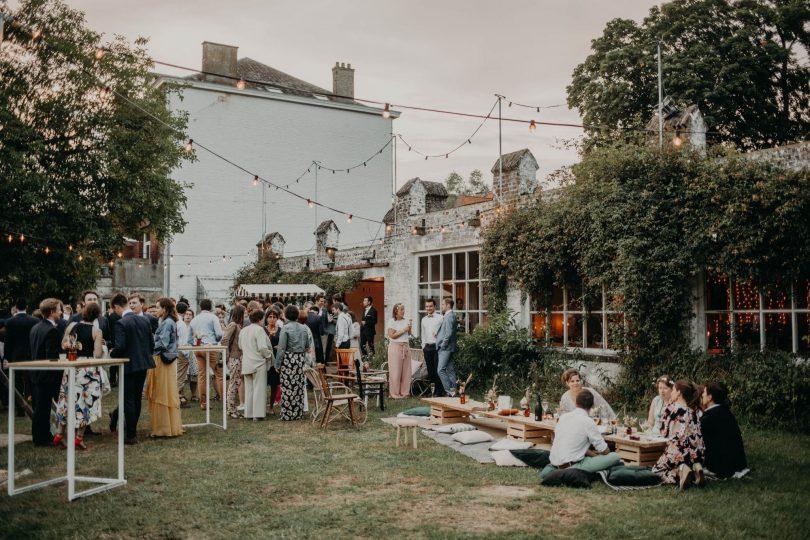 Un mariage simple et indus à Tombeek Plage en Belgique - Photos : Roses et Violettes - Blog mariage : La mariée aux pieds nus