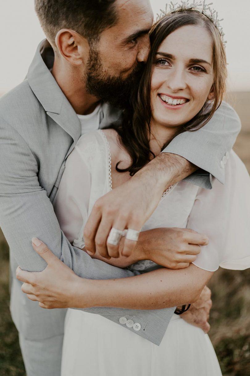 Un mariage simple à Quiberon - Photos : Les Histoires d'A. - Blog mariage : La mariée aux pieds nus