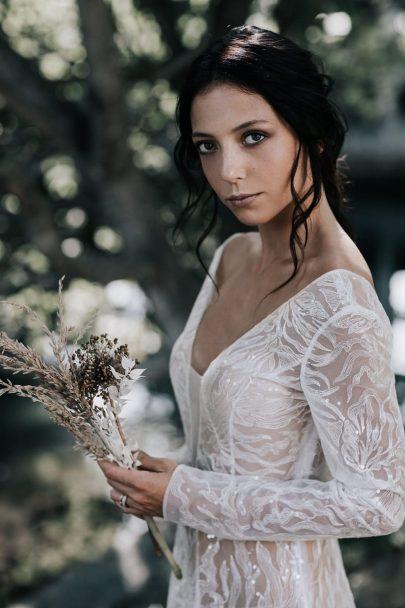 Un mariage simple et naturel en vert - Photos : Delphine Closse - Blog mariage : La mariée aux pieds nus
