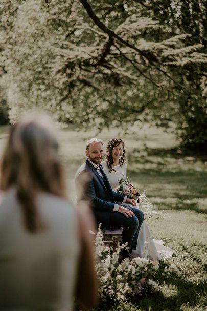 Mariage au Domaine de Thiemay près de Nantes - Photos : Les histoires d'A - Wedding plannin : Ambiana - Blog mariage : La mariée aux pieds nus