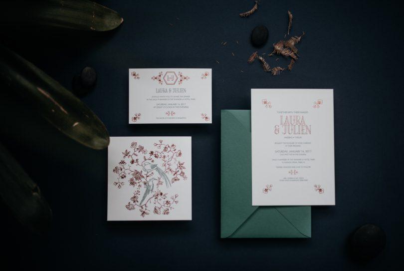 Un mariage aux inspirations tropicales et minimalistes à l'Espace Nobuyoshi - Freyia Photography - La mariée aux pieds nus