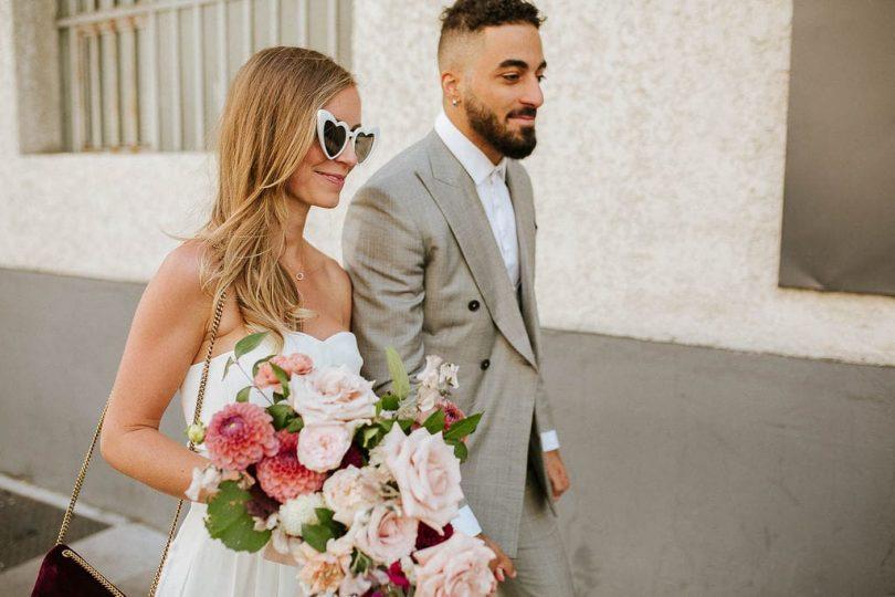 Un mariage urbain dans une piscine désaffectée - Photos : Mélanie Bultez - Blog mariage : La mariée aux pieds nus