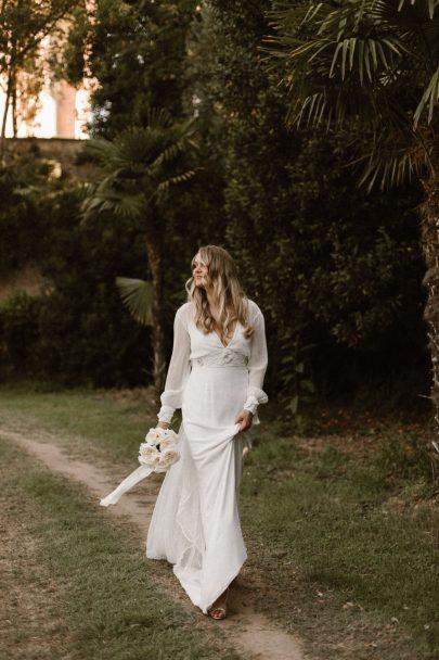 Un mariage végétal au Domaine de la Ribeaute dans l'Hérault - Photos : Kevin Klein - Blog mariage : La mariée aux pieds nus