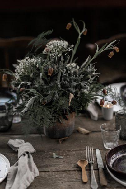 Un mariage végétal inspiration scandinave - A découvrir sur le blog mariage www.lamarieeauxpiedsnus.com - Photos : Julien Navarre