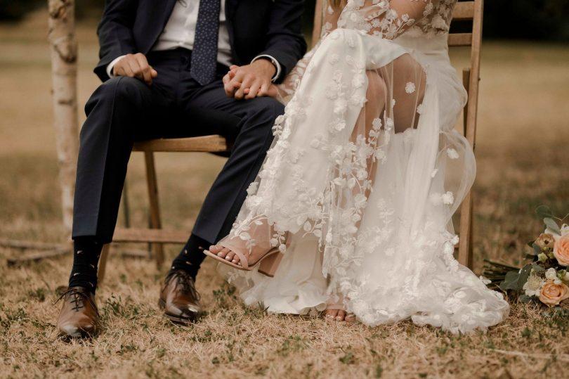 Un mariage en vert au Domaine des Bidaudières - Photo et video : Solveig & Ronan - Blog mariage : La mariée aux pieds nus