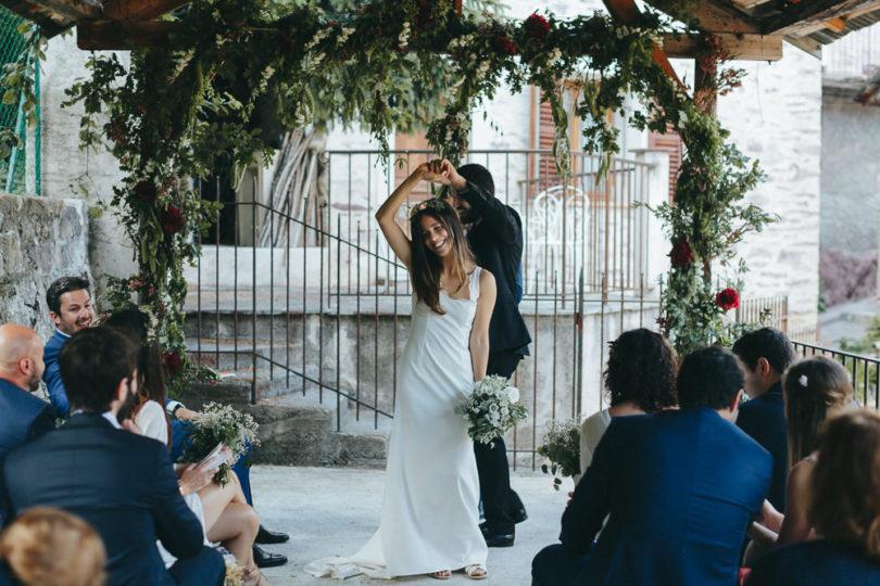 Un mariage à la montagne dans les Alpes Maritimes - A découvrir sur le blog mariage www.lamaireeauxpiedsnus.com - Photos : Reego Photographie