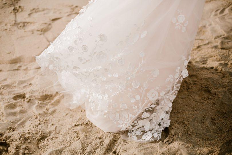 Marie Catherine Le Hodey - Robes de mariée - Blog mariage : La mariée aux pieds nus