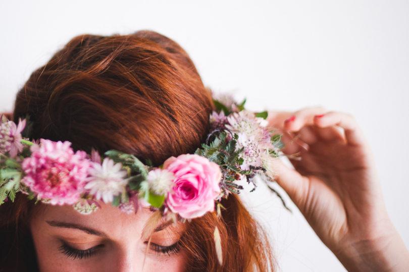 Diy Une Couronnes De Fleurs Fraiches