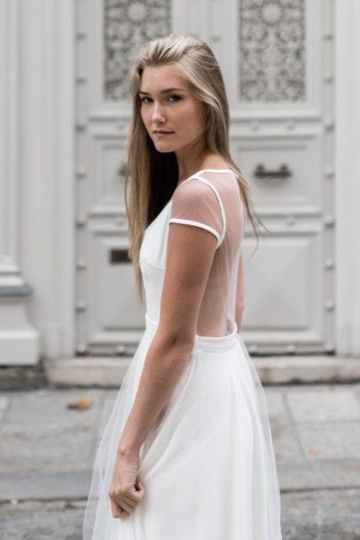Marion Kenezi - Robes de mariée - Prêt à Porter - Photos : Julien Navarre - Blog mariage : La mariée aux pieds nus