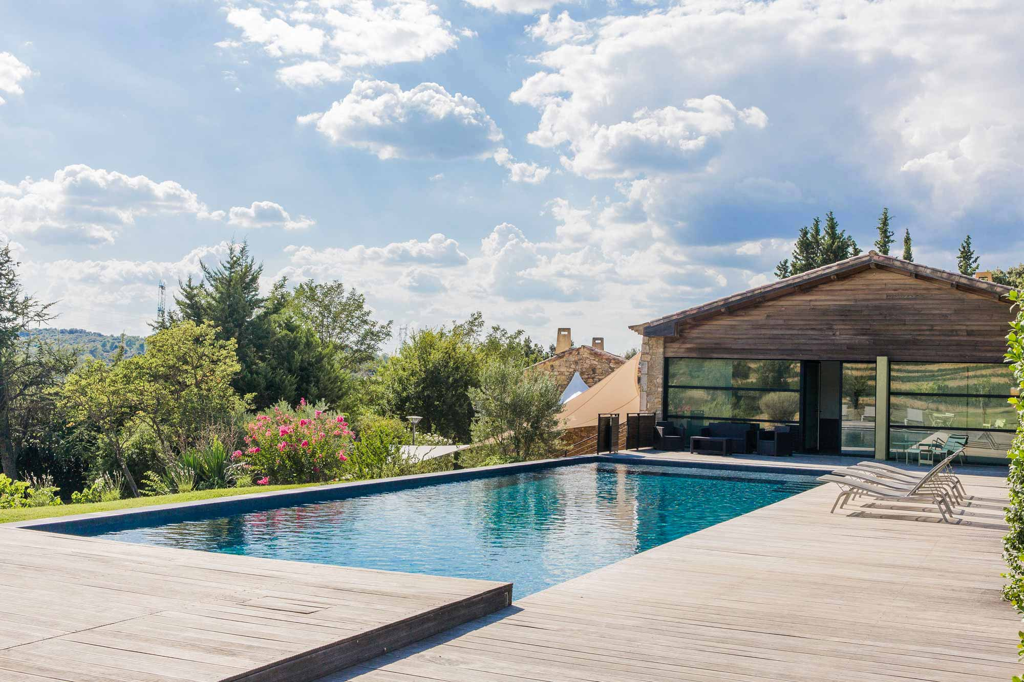 Mas de So - Reception mariage - Gard - Provence - La mariée aux pieds nus