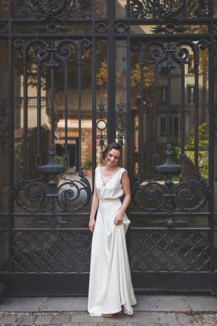 Mathilde Marie - Robes de mariée - Collection 2016 - A découvrir sur le blog mariage La mariée aux pieds nus