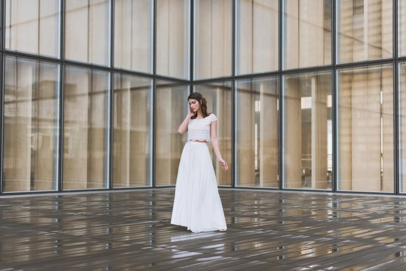 Mathilde Marie - Robes de mariée - Blog mariage : La mariée aux pieds nus