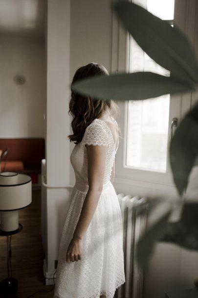 Mathilde Marie - Robes de mariée - Collection Mariage Civil - Blog mariage : La mariée aux pieds nus