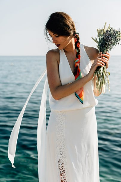 Mélodie Boitard - Robes de mariée - Collection 2019 - La mariée aux pieds nus