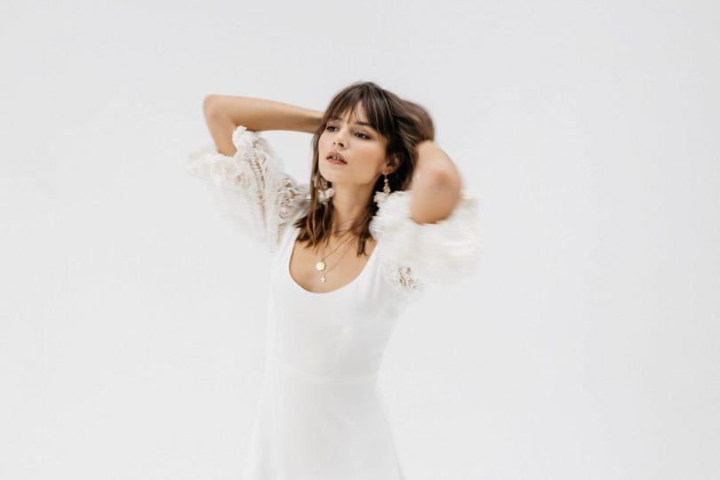 Meraki Paris - Robes de mariée - Collection 2021 - Photos : Yann Audic - Blog mariage : La mariée aux pieds nus