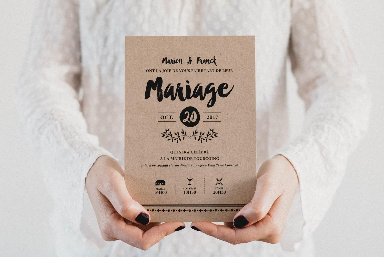 monkeychoo - faire part de mariage
