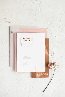 My Dear Paper - Papeterie et faire part de mariage - Blog mariage : La mariée aux pieds nus