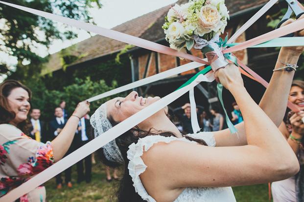 Ricardo Vieira - Un mariage pastel et oriental en Normandie - Made in You - La mariee aux pieds nus