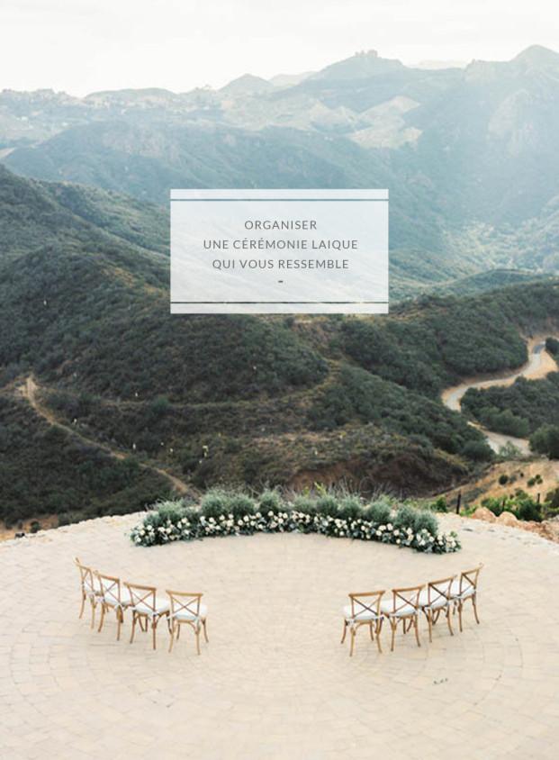 Comment organiser une cérémonie laique qui vous ressemble ? Découvrez des conseils pour imaginer votre cérémonie de mariage sur le blog mariage www.lamarieeauxpiedsnus.com