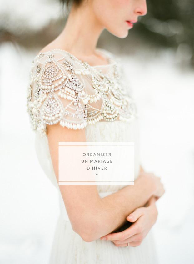 Comment organiser un mariage en hiver - Conseils et astuces à découvrir sur le blog mariage www.lamarieeauxpiedsnus.com
